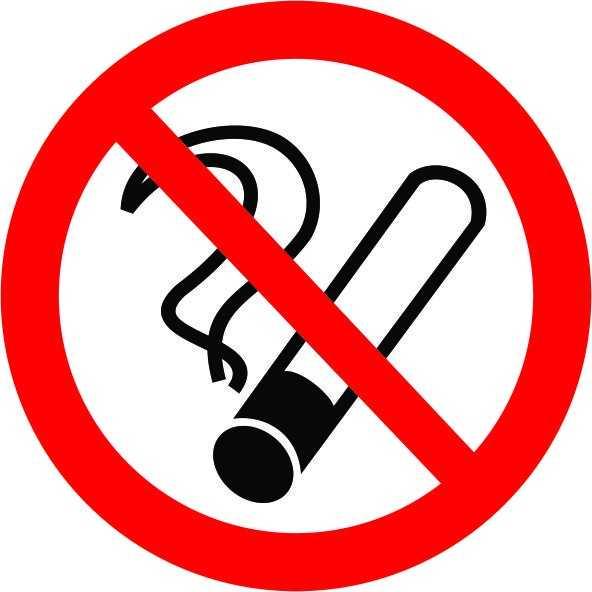 Placa: Pictograma Proibido Fumar