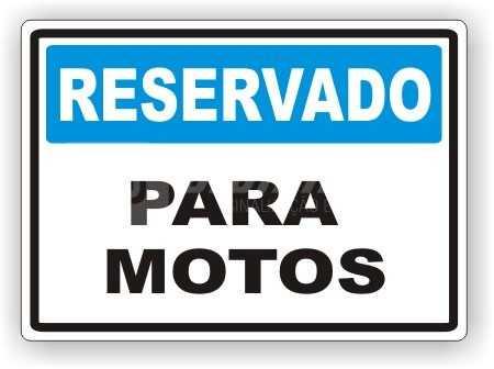 Placa: Reservado - Para Motos