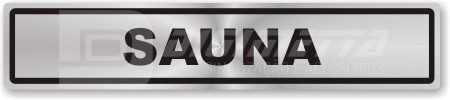 Placa: Sauna