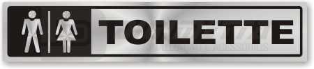 Placa: Toilette