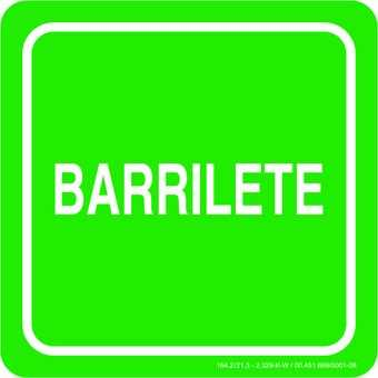 Placa: Barrilete