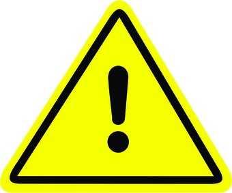 Placa: Alerta Geral